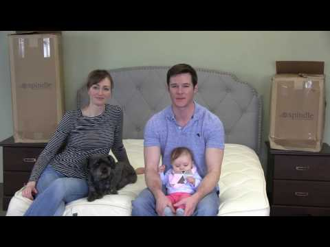 Spindle Natural Latex Mattress Unboxing and Preview