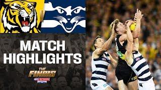 Richmond v Geelong Highlights   Second Preliminary Final, 2019   AFL