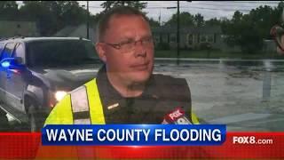 Authorities warn Wayne County residents to keep close eye on flooding
