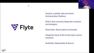 Flyte: Cloud Native Machine Learning & Data Processing Platform