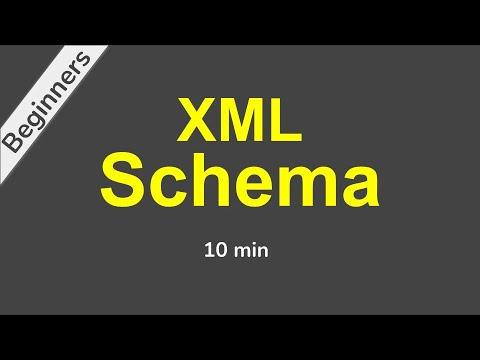 XML Schema (XSD) Beginner Tutorial with Demo