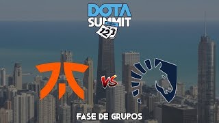 FASE DE GRUPOS  ! Fanatic vs Team Liquid BO2 - Dota Summit 12
