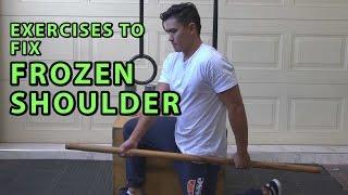 Exercises To Fix Frozen Shoulder Syndrome