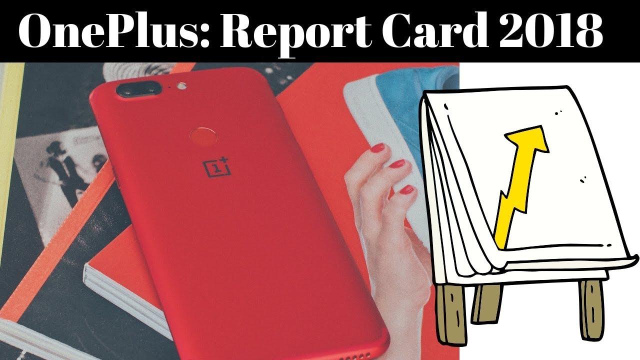 वनप्लस 6: रिपोर्ट कार्ड 2018