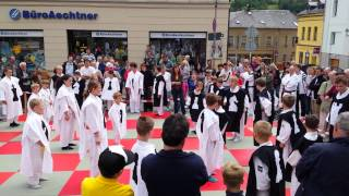 preview picture of video 'Judoschach auf dem Stadtfest Markneukirchen 14.06.2014'
