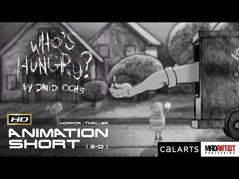 "2D Animated Short Film ""WHO'S HUNGRY"" DISTURBING, SCARY & CREEPY Animation by David Ochs"