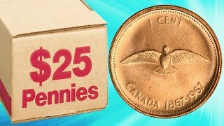 RECORD BREAKING PENNY FINDS! SEARCH FOR COPPER COIN ROLL HUNTING PENNIES