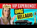 Bellagio Two Bedroom Penthouse Suite and the Full V.I.P Experience (Lake View/ Fountain)