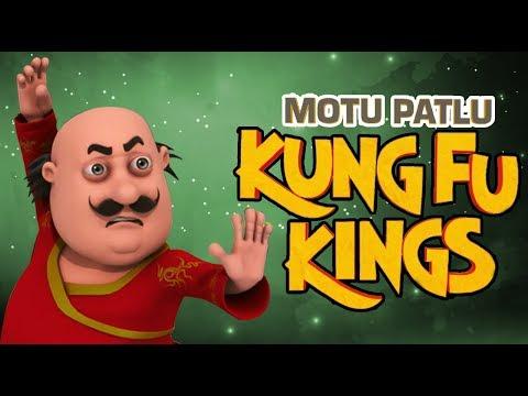 Funny Cartoon Movies for kids | Cartoons In Hindi | Motu Patlu - Kunf Fu Kings