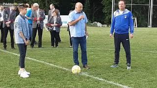 Uradna predaja nogometnega igrišča pri Sv. Juriju ob Ščavnici
