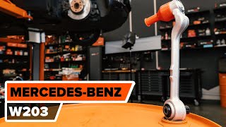 How to replacefront suspension upper lower armonMERCEDES-BENZ C W203TUTORIAL | AUTODOC