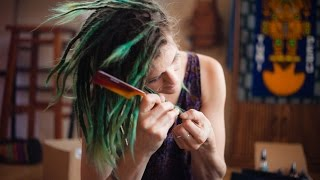 Removing Dreadlock Extensions