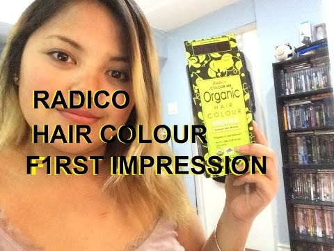 F1RST IMPRESSION || Radico Colour Me Organic HairDye