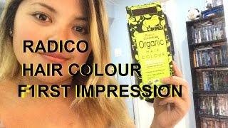 F1RST IMPRESSION    Radico Colour Me Organic HairDye
