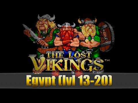 The Lost Vikings (Egypt 13-20)