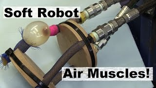 Air Muscle Flex Joint for Soft Robot.