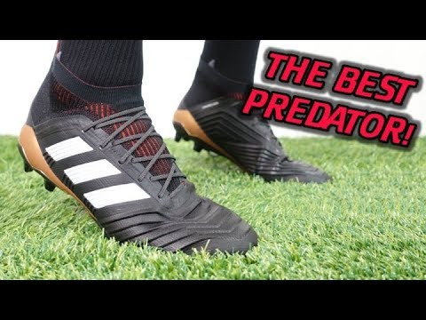 THE BEST NEW ADIDAS CLEATS!? – Adidas Predator 18.1 (Skystalker Pack) – Review + On Feet