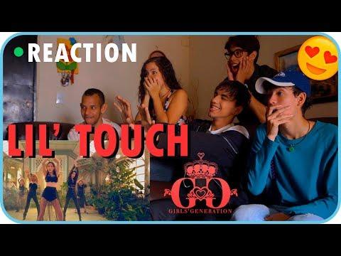 Girls' Generation-Oh! GG 소녀시대-Oh!GG '몰랐니 (Lil' Touch)' MV REACTION [TRAINEES COMPANY] (видео)