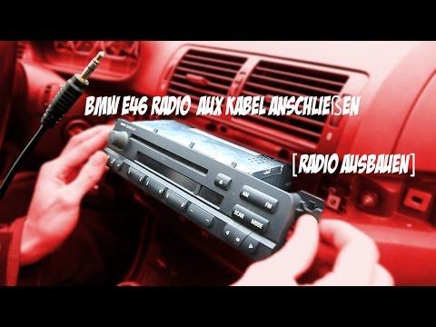 BMW E46 Radio  Aux Kabel Anschließen [Radio Ausbauen]