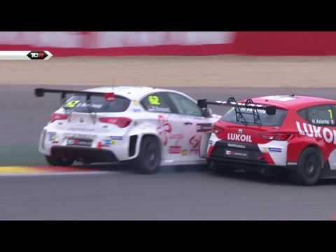 Some typical Touring Car action! 2017 Spa, Round 5 Clip