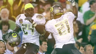 LaMichael James & Kenjon Barner Ultimate Oregon Career Highlights