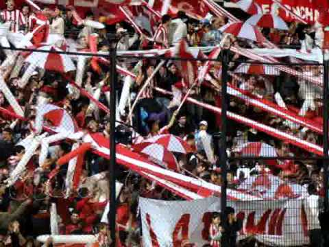 """""""Estudiantes vs Liga - Recopa 2010 - """"En todas las canchas siempre para adelante."""""""" Barra: Los Leales • Club: Estudiantes de La Plata"""