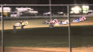 preview picture of video 'Mercer Raceway Park 3.27.10 UFO Late Model Feature'