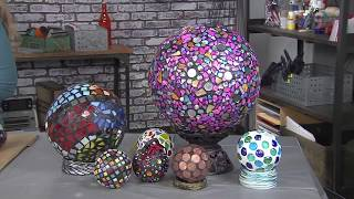 Use Apoxie Sculpt To Make A Garden Gazing Ball! Join Lynne Suprock On Make It Artsy! 506