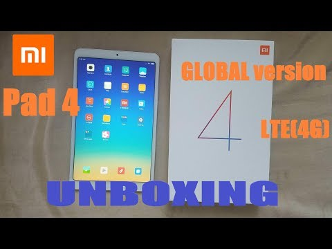 Xiaomi Mi Pad 4 8\'\' (Global Version) (LTE) - UNBOXING