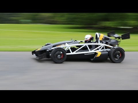 Ariel Atom 3.5 R Supercar Road Test