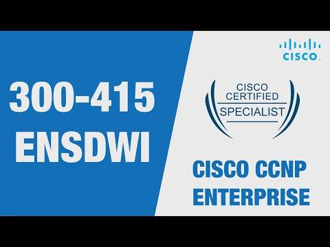 Cisco SD-WAN Certification: 300-415 ENSDWI Examination, Cost ...