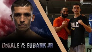 Lee Selby And Kid Galahad Sparring At Ingle Gym