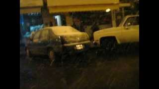 preview picture of video 'NIEVE EN BUENOS AIRES !!!  3'
