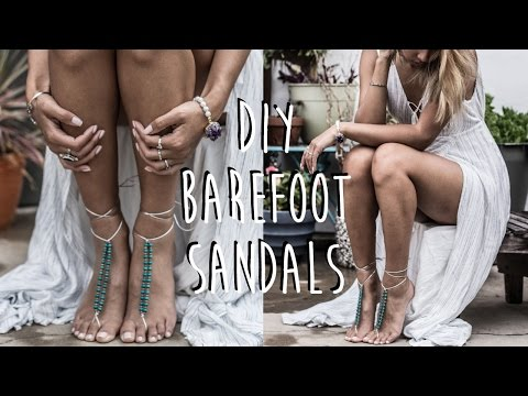 DIY: How To Make Barefoot Sandals