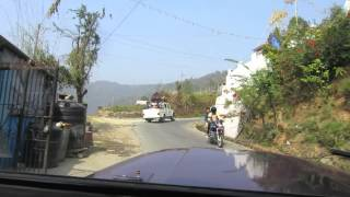 preview picture of video 'Driving from Pokhara to Sarangkot in Nepal'