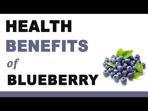 Video Health Benefits of Blueberry