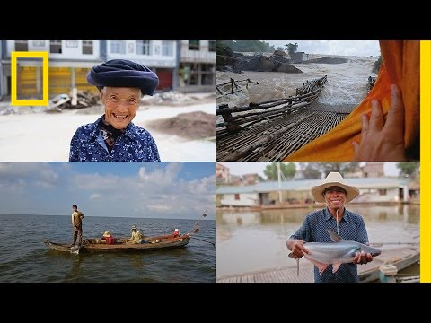 90 Days in 90 Seconds: Life on the Mekong River | National Geographic thumbnail