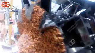 20-2000g automatic  packing machine|snack packaging machine work video