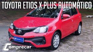 Avaliação: Toyota Etios X Plus Automático