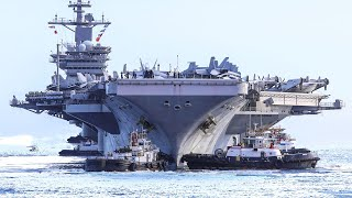 Super Aircraft Carrier • USS Theodore Roosevelt Conducts Flight Operations at Sea