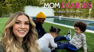 'Mom Diaries': Allison Holker Boss Embraces the Chaos of Parenthood