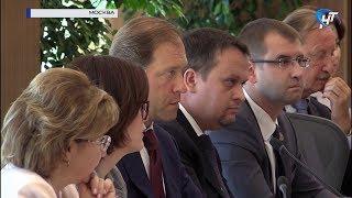 Андрей Никитин принял участие в совещании с главой минпромторга России Денисом Мантуровым