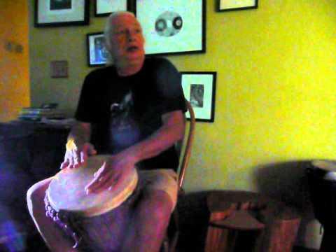 African drumming rhythm Ebo part two