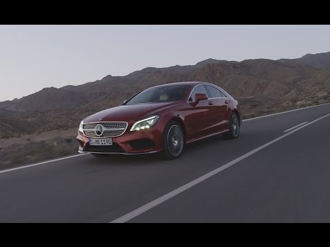 the new generation CLS Coupé - Mercedes-Benz original