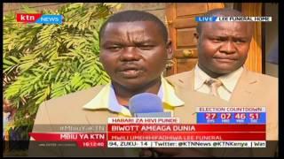 Kumbukumbu za aliyekuwa waziri Nichalos Biwott: Mbiu ya KTN