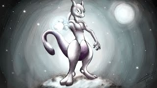 Jeel - Speed Painting : MEWTWO Pokémon