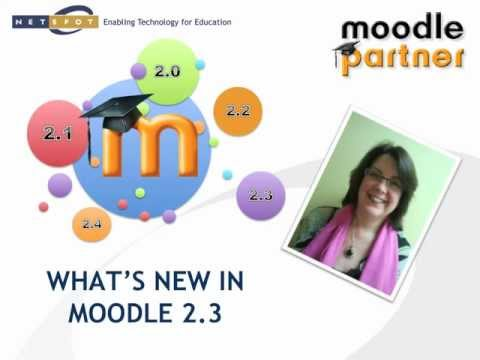 Moodle 2.3 Overview