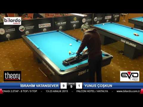 İBRAHİM VATANSEVER & YUNUS ÇOŞKUN Bilardo Maçı -