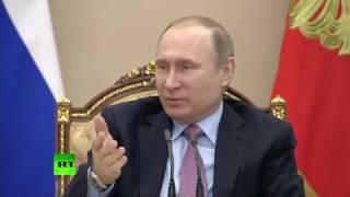 Путин в шутку поручил провести воспитательную работу с Мединским