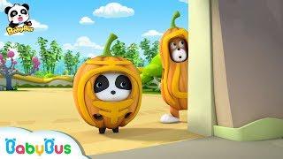 Baby Panda Wears Pumpkin Costume | Funny Baby Video | Kids Cartoon | Kids Videos | BabyBus